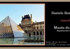 Il Maestro Daniele Bongiovanni in mostra al Louvre di Parigi